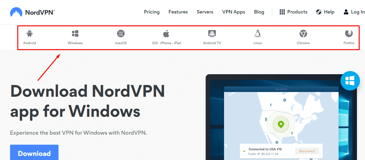 Download Nord VPN