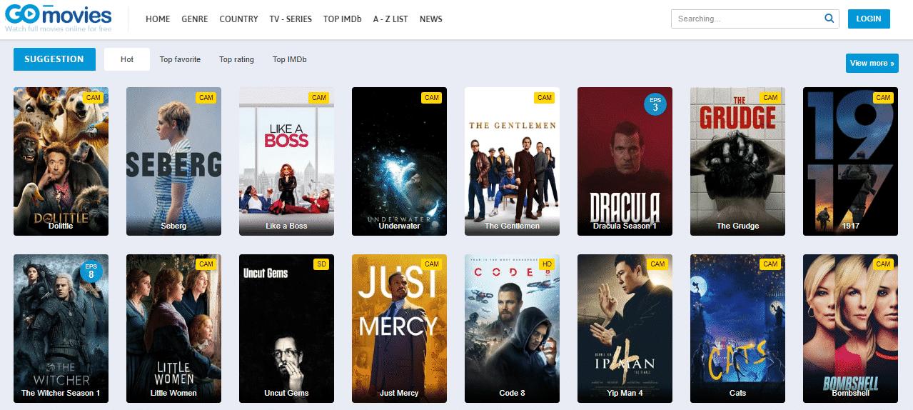 GoMovies Stream Movies Online Free