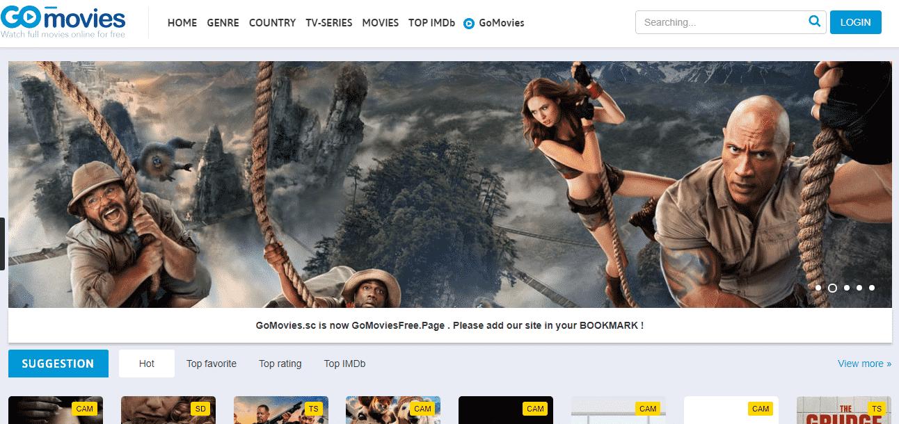 GoMovies - TVMuse Alternative