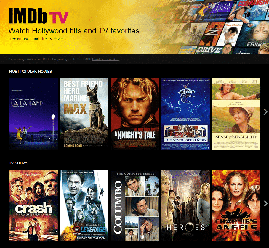 IMDb - Putlocker Premium Alternative