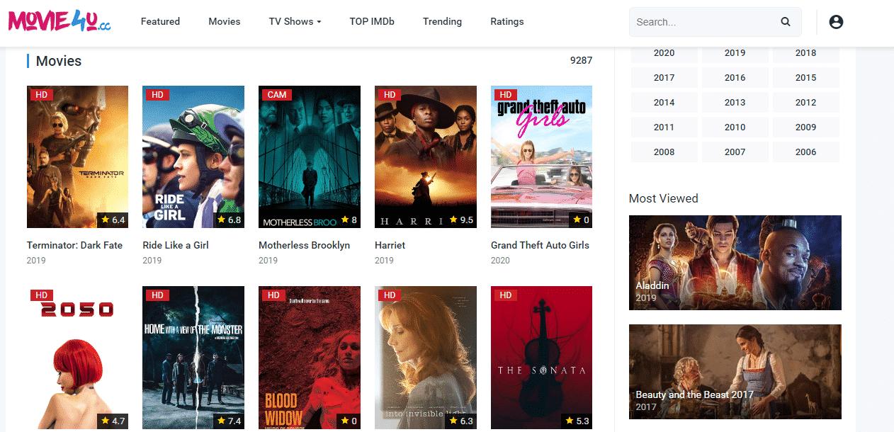 Movie4u Watch Free Movies Online