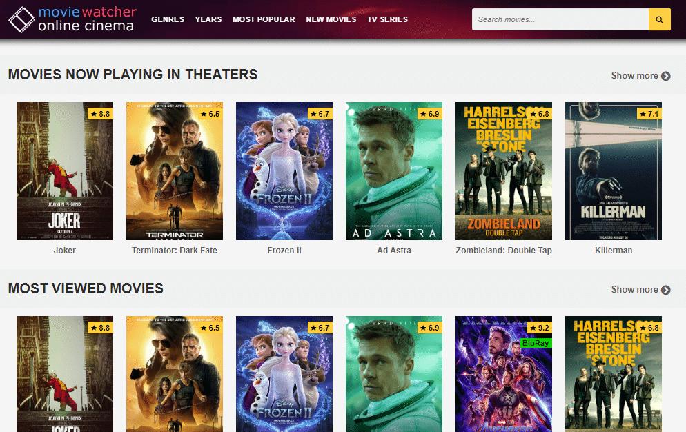 MovieWatcher Watch Online Movies Free