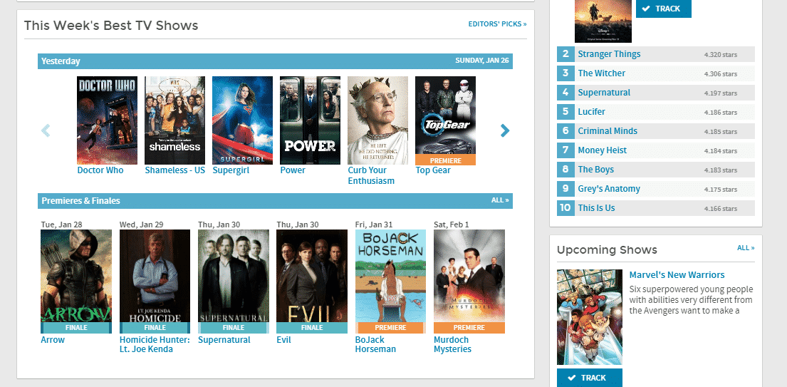 SideReel Watch movies and TV shows