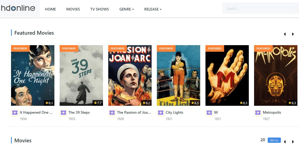 HdOnline Watch Free Online Movies