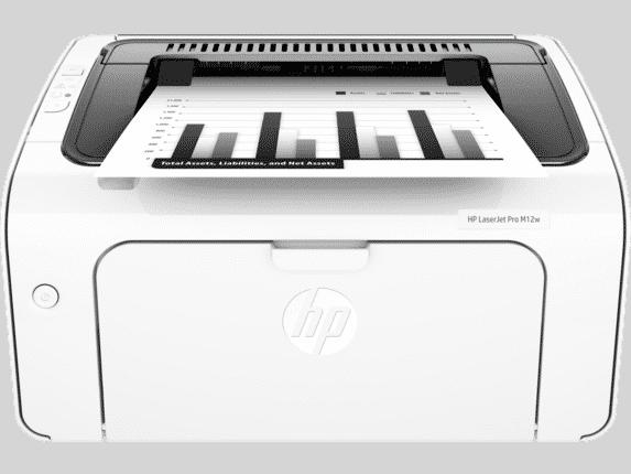 Hp Laserjet Pro M12w Wireless Printer