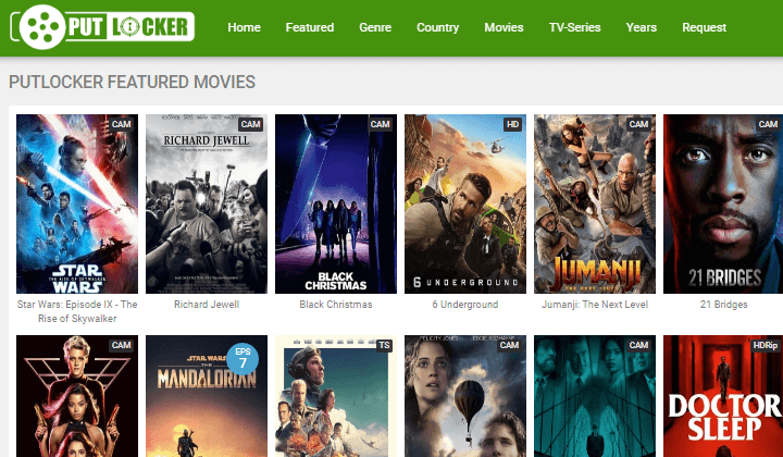 Putlocker Watch Latest HD Movies and TV Shows