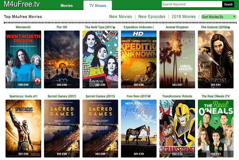 M4uFree - Watch Movies Online
