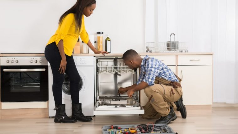 The Professional Process of Installing a Dishwasher
